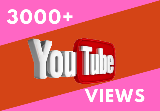 I will Provide you 3000+ Safe and effective Real YouTube Views
