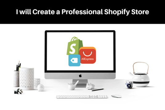 I will Create High Converting Shopify Store Shopify Website
