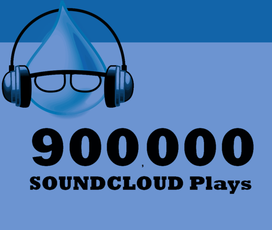 I will Send 900,000  Soundcloud Plays