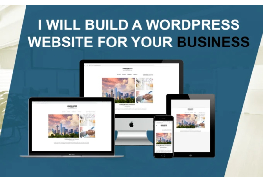 I will Design Responsive WordPress Website for your business