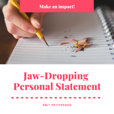 create you a jaw-dropping personal statement