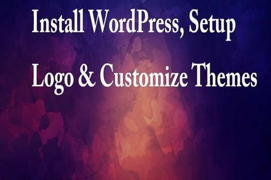 I will install WordPress, setup logo and menu ,Customize themes, plugins for your website