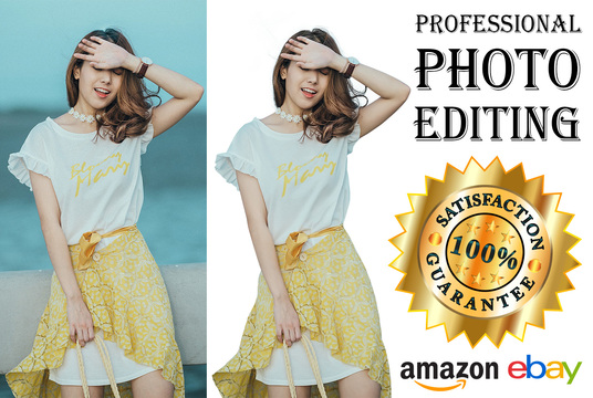 I will do Photoshop Edit, Remove Background, Ebay, Amazon Product Pictures