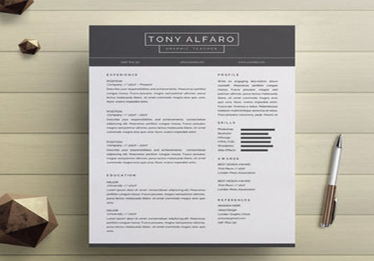 cccccc-Design CV, Resume  and Cover Letter