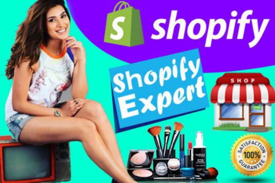 I will Create Shopify Store or Shopify Drop Shipping Store
