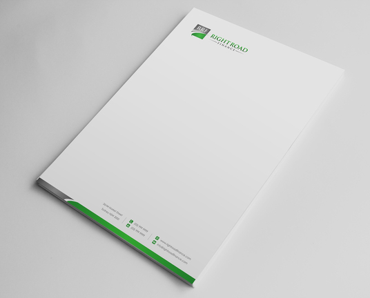 I will design letterhead