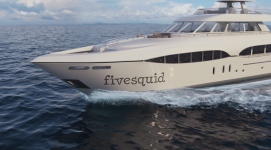 Create Luxury Yacht Animation With Your Logo