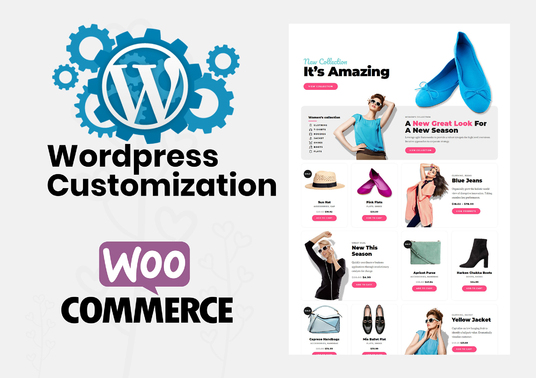 I will  Fix, Customize Wordpress Woocommerce Website