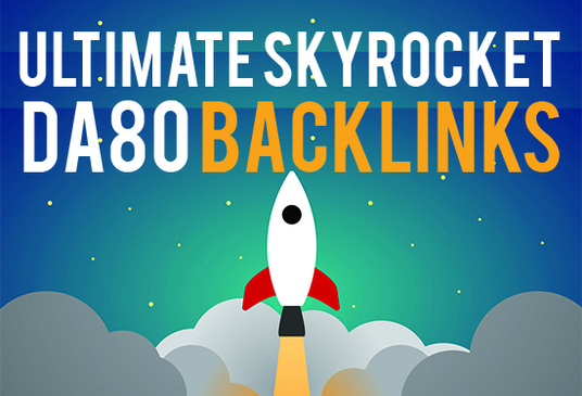I will Rank your website with 25 high authority backlinks DA50 to DA80