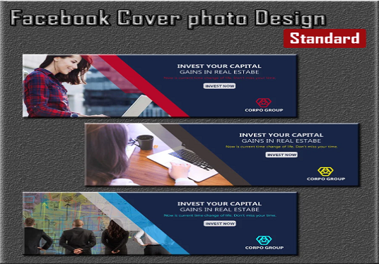I will Design Creative Facebook Cover