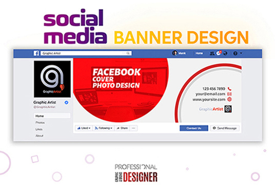 I will Design Amazing Social Media Cover or Website Banner ADS