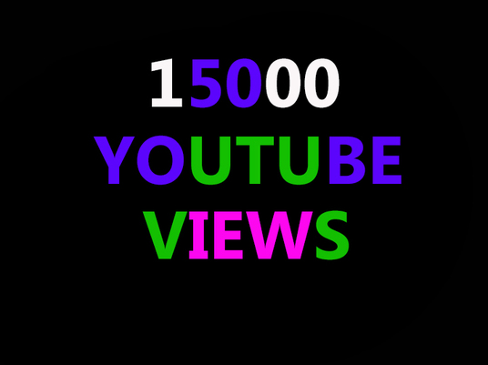 I will Add 15,000 Youtube Views