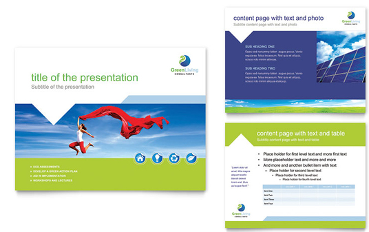 I will set up your Powerpoint Presentation for you