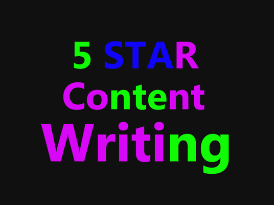 I will write content of up to 500 words on any subject for your website or blog