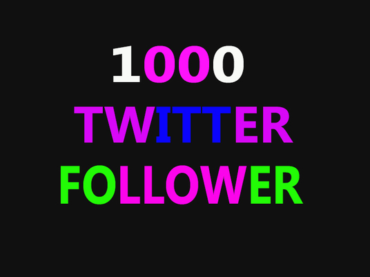 I will add 1000+ REAL twitter followers highest quality