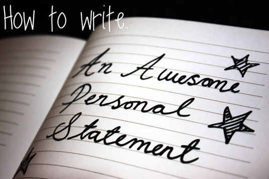 whip your personal statement into superior shape