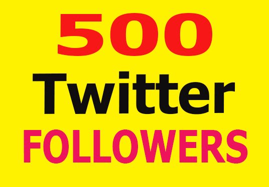 I will Add 500 Permanent Twitter Followers
