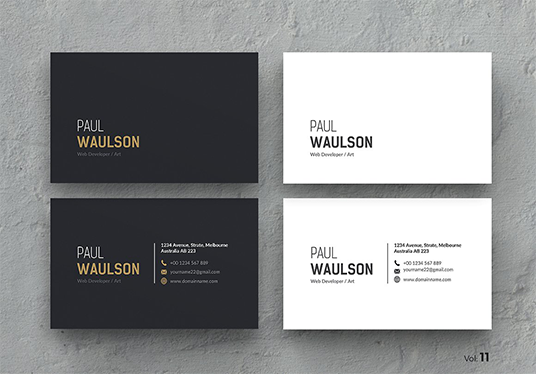 I will Design Business Card