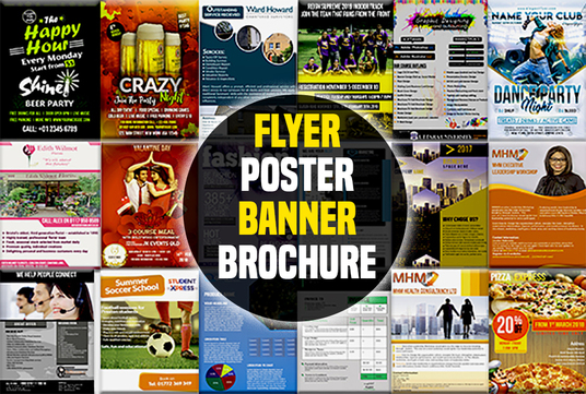 create poster or banner