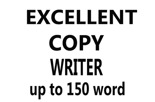 I will write first-class copy for your website
