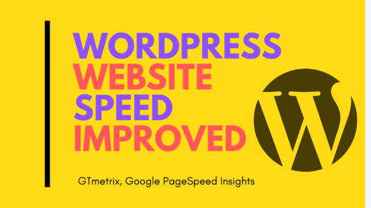 I will optimize wordpress website improve and speed GTmetrix, Google pagespeed score