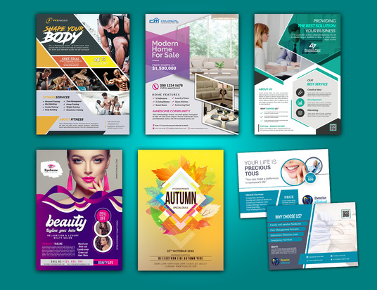 I will design an amazing business flyer