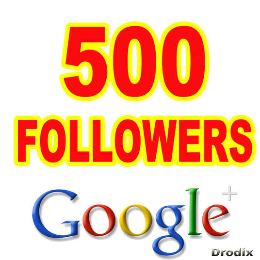 I will Provide 500 Google Plus Followers Non Drop