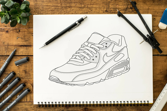 I will Draw A Line Art Of Your Product