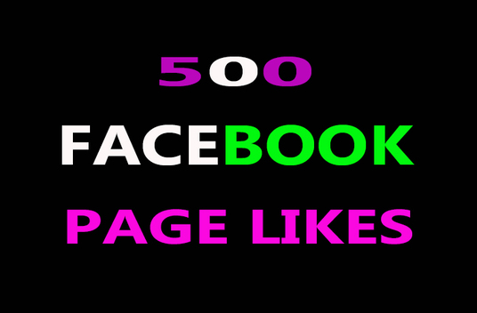 I will Provide 500 Facebook Likes