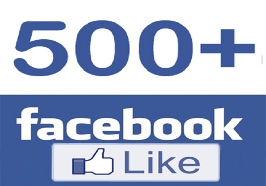 I will provide you 500 Facebook likes