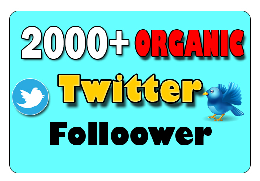I will give 2000+ Fast Delivery Twitter Followers UK within 24 hours