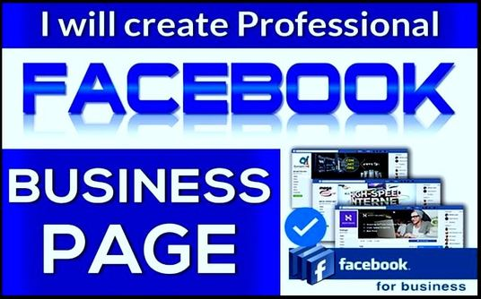 I will create Facebook Business or Fan page and setup
