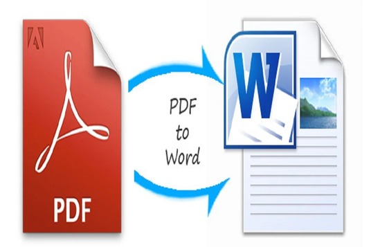 I will convert pdf to doc file