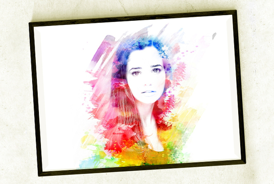 I will edit your photos with amazing watercolor shapes