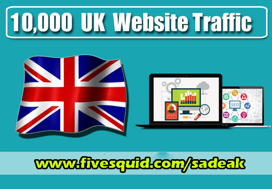 I will Drive 10,000 Traffic From UK
