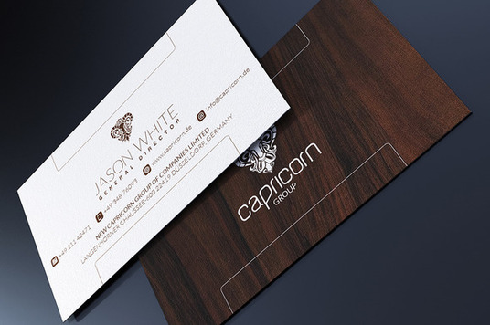 I will Design Professional Double Sided Business Card