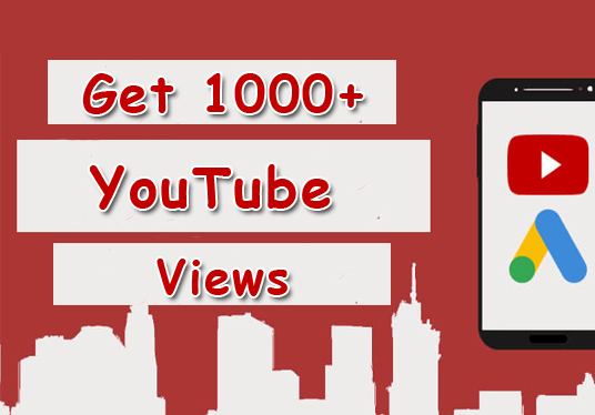 Give You 1000+ YouTube Video Views