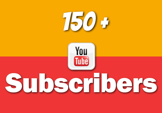 I will give you 150 + Youtube subscribers