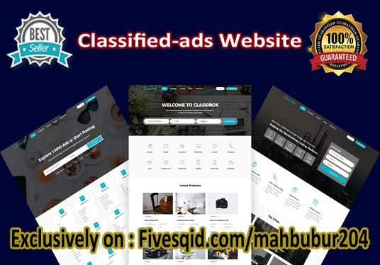 I will build classified WordPress website for your business