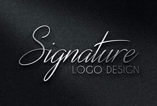Create a signature Logo Handwritten Or Text