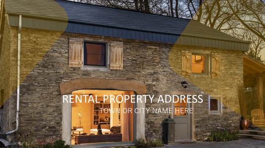 add your property to a predesigned real estate agents landlords rental commercial video
