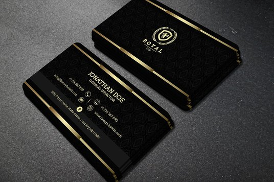 Design stylish business card