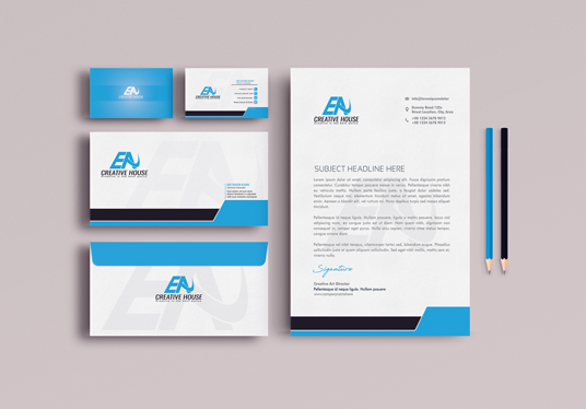 I will Create An Amazing And Unique Business Card Or Letterhead Or Stationary