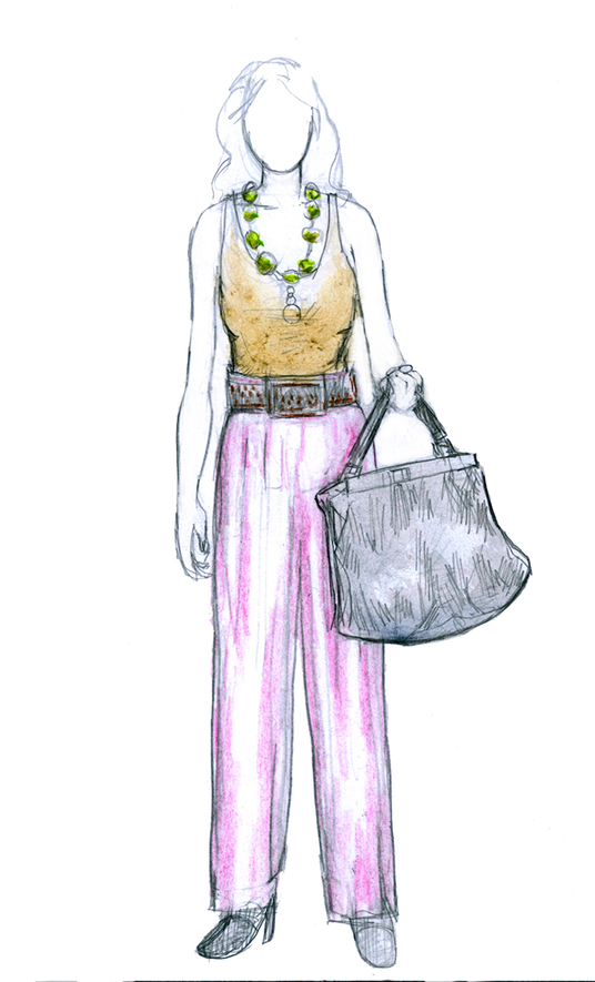 I will Draw Amazing Fashion Illustrations For You