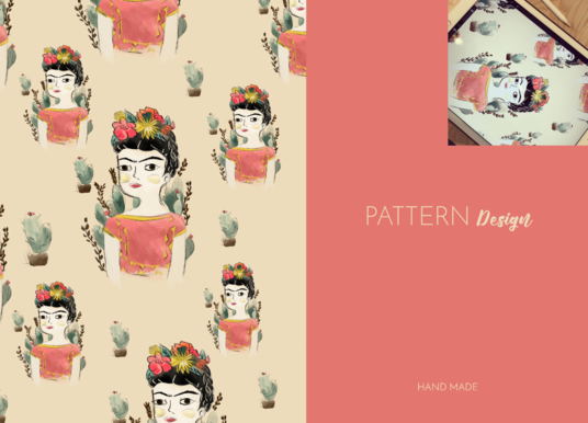 I will design a pattern