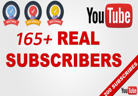 I will Provide You USA 165+ YouTube Subscribers