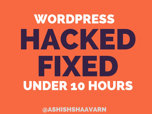 Fix WordPress hacked website and clean malware Virus for £5 : aumstech -  fivesquid