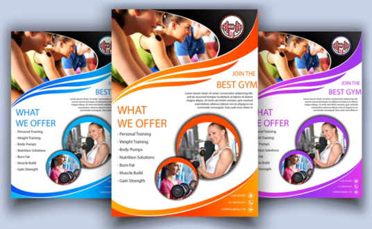 I will Design Amazing Flyer and Leaflet