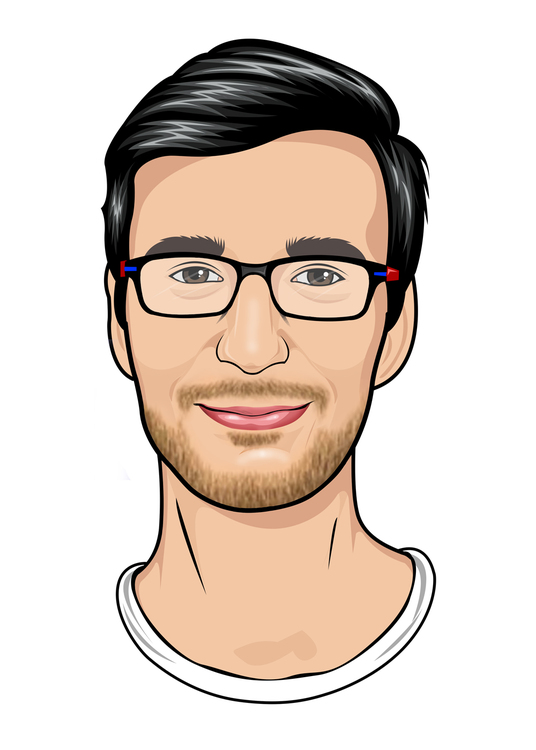 I will Draw High Realistic Vector Portrait From Photo
