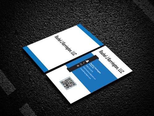 do two professional looking business card designs for you